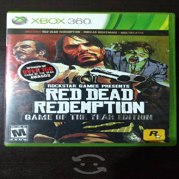 Red Dead Redemption Xbox 360 Edición Juego del Año