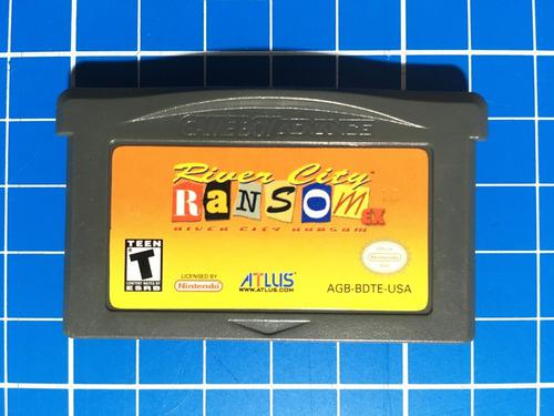 River City Ransom Ex Gameboy Advance ¡juegazo!