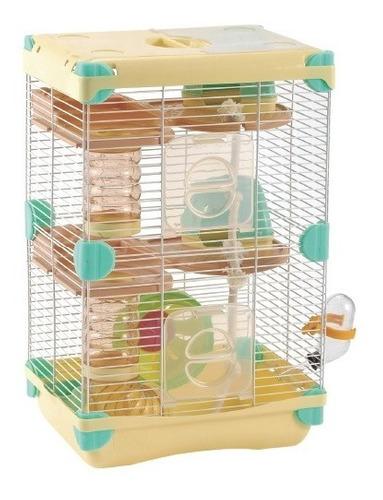 Sp- Jaula Para Hamster Land Adventure Sunny Crema