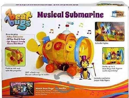 Submarino Musical Beat Bugs Netflix Incluye A Jasp