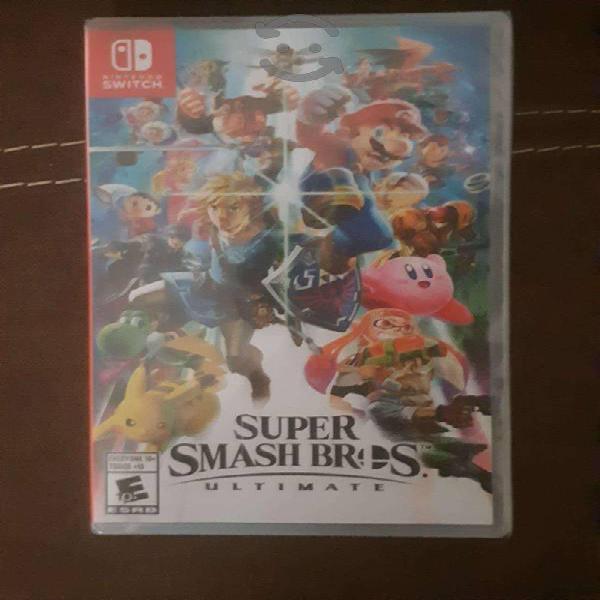 Super smash bros ultimate(nuevo sellado)