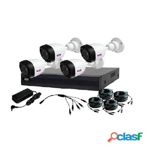 Topvision Kit de Vigilancia TOP2504 de 4 Cámaras CCTV