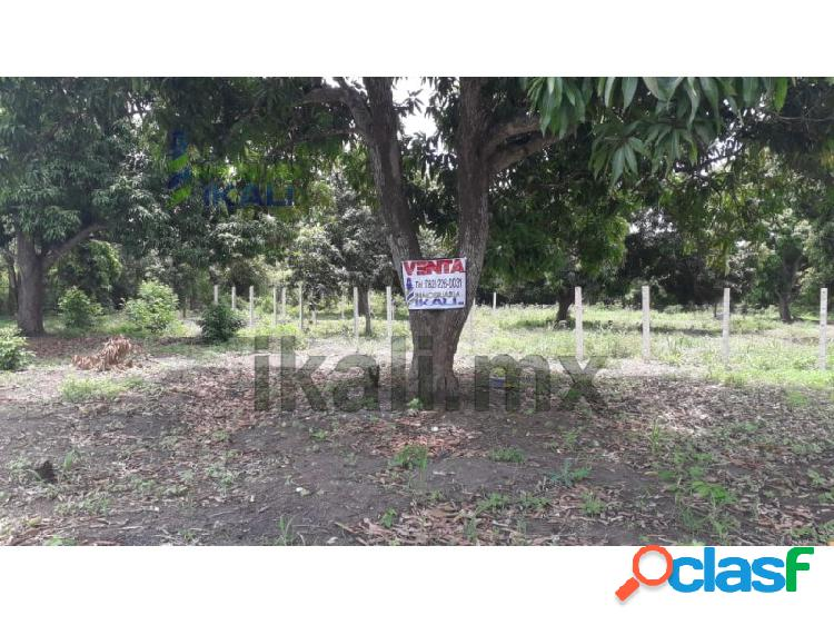 Venta terrenos 200 m² Col. Ricardo Flores Magon Tihuatlan