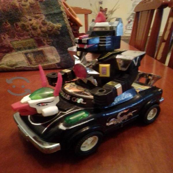 carro robot Regulus car 1985