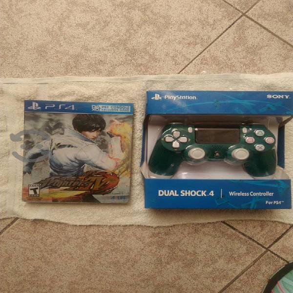 control y juego steelbook para ps4