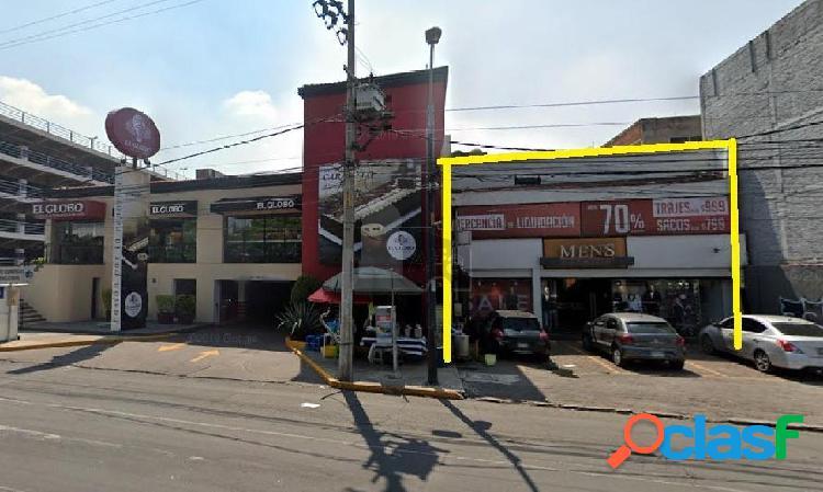 edificio en renta en avenida miramontes alcaldia tlalpan,
