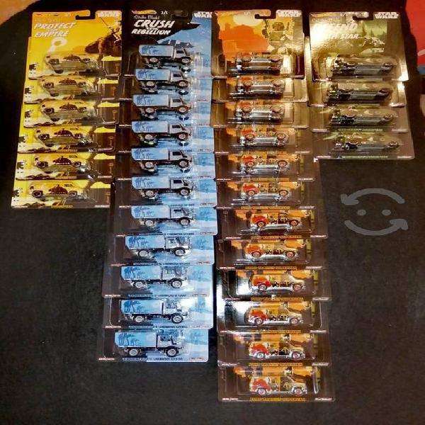 lote de 33 hotwheels llantas de goma ,metal /metal