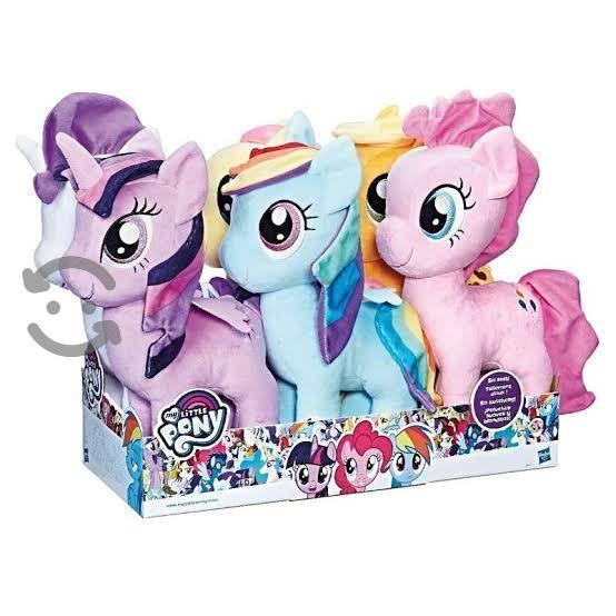 lote de 4 peluches my Little pony
