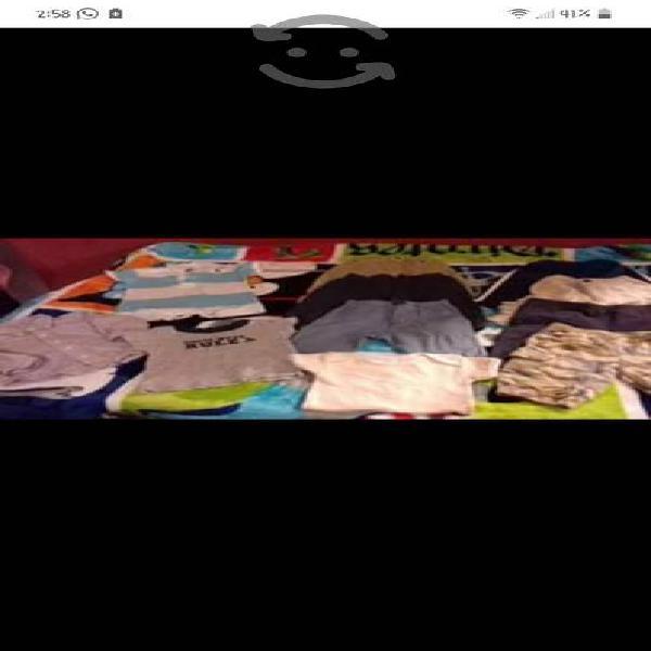 lote de ropa para bb