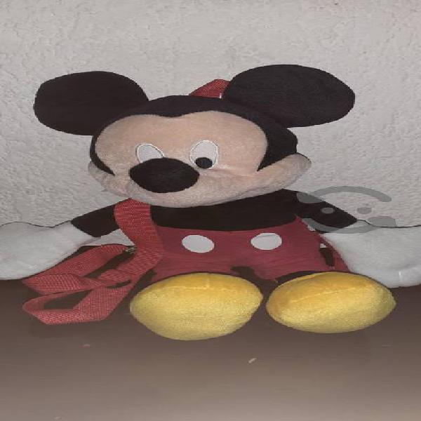 peluche mochila de mickey mouse original 40cm