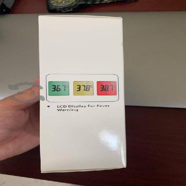 termómetro infrarrojo grado humano