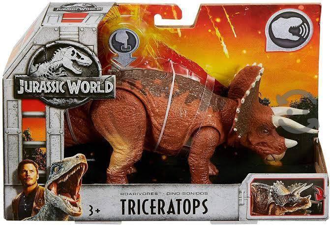 triceratops Jurassic world rugidores