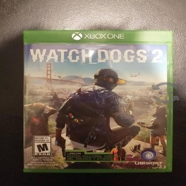 watch dogs 2 como nuevo