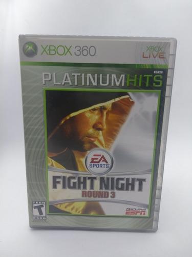 Fight Night Round 3 Xbox 360 En Gordito Coleccionables
