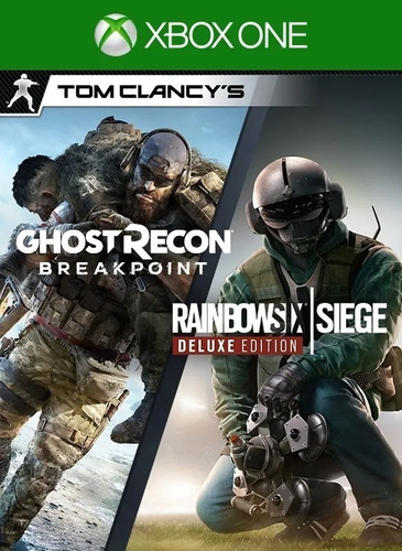 Ghost Recon Breakpoint Y Rainbow Six Siege Deluxe Ambos Jueg