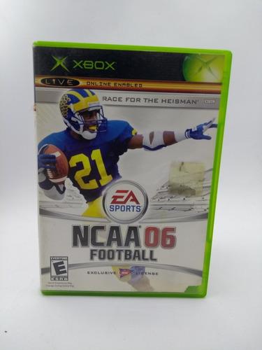 Ncaa 06 Xbox Clásico En Gordito Coleccionables