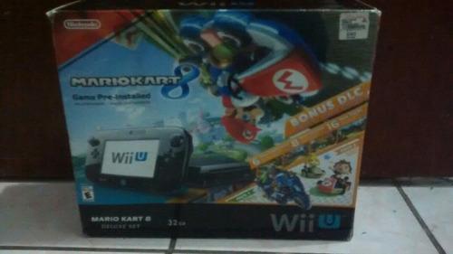 Wii U Deluxe Versión Mario Kart 8 32g