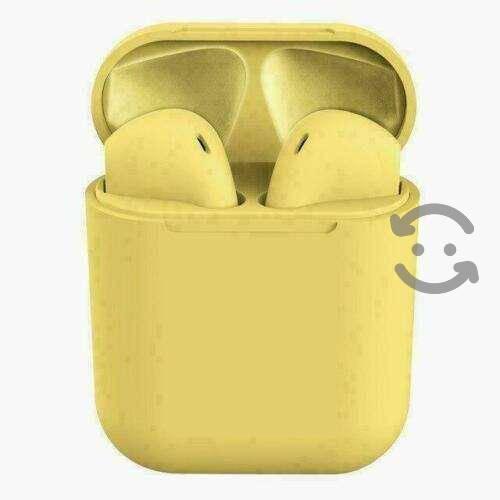 Audifono Bluetooth I13 Manos Libres Pods Amarillo