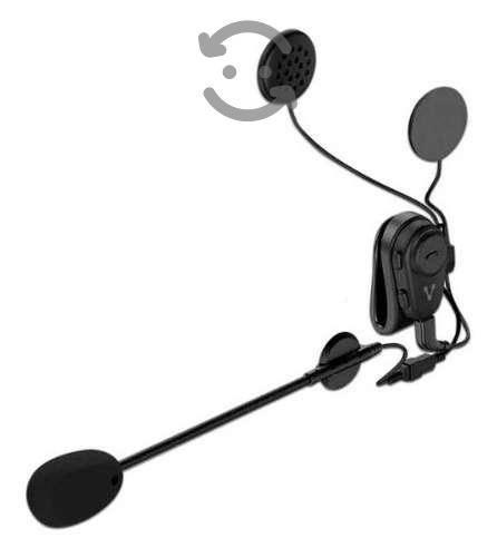 Audifono Manos Libres Btm-300 Bluetooth Para Moto