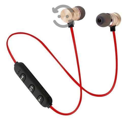Audifonos Bluetooth Manos Libres Con Iman Sport M