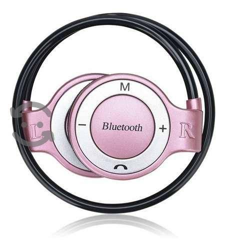Audifonos Bluetooth Manos Libres Y Reproductor Mp