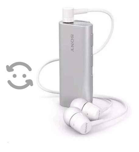 Audifonos Bluetooth Sony Sbh56 Plata