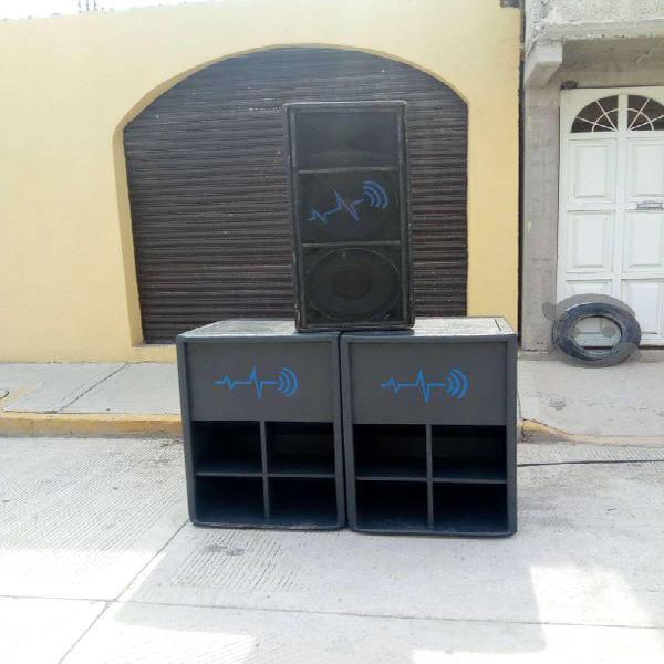 Cambio equipo de sonido por carro
