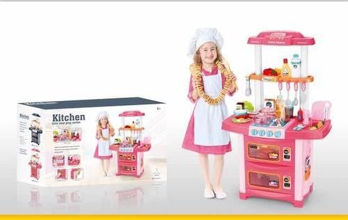 Cocinita De Juguete Cocina Infantil. Agua, Luz Y Sonido 86cm
