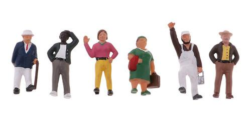 Escala 1:87 Ho Modelo Pintado Figuras De Personas Pasajero