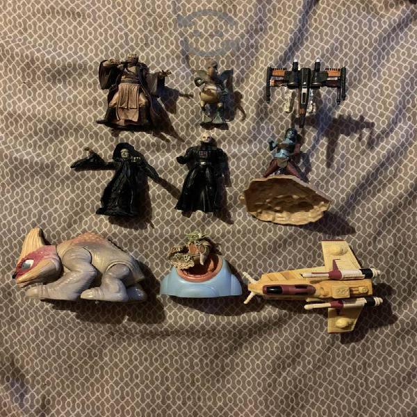 Figuras y naves star wars, tal y como se ven