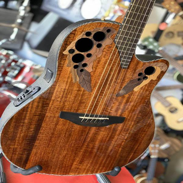 Guitarra electroacústica Ovation Koa $13,997.00