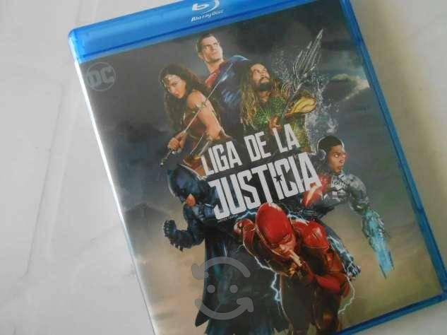 Liga De La Justicia Bluray Dc Justice League