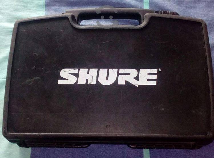 Micrófono Shure Beta 58A profesional inalámbrico,