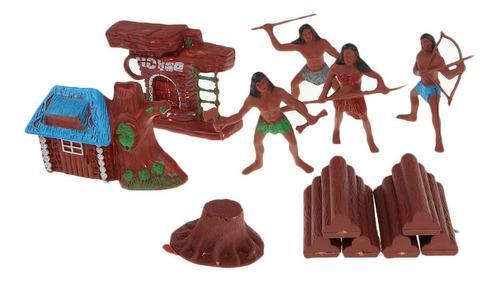 Mini Modelos Figurita De Acción Hombres De Salvaje Para