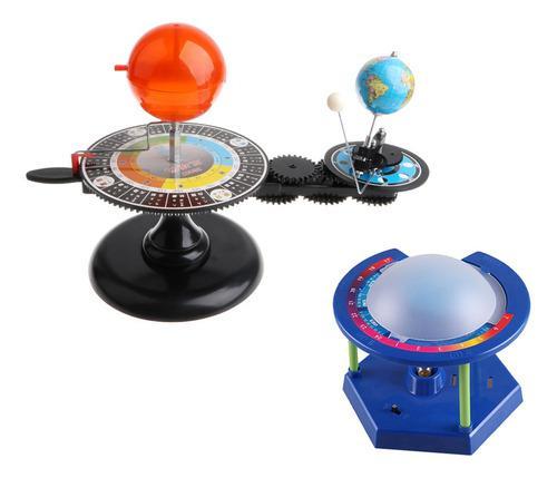 Modelo Orbital De Sol Tierra Luna + Proyector De Estrellas Y