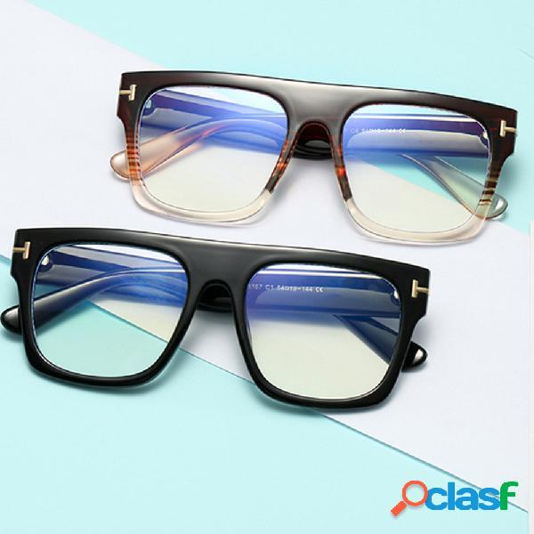 Nueva luz anti-azul Gafas Tr90 Gafas Óptica Gafas Bloqueo