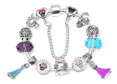 Pulsera Charms Compatible Pandora Disney Mimi Princesas