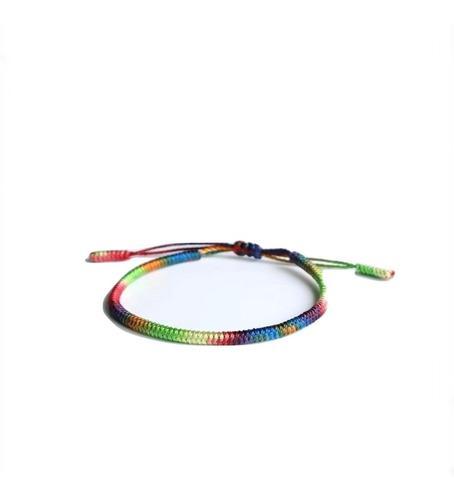 Pulsera Tibetana 7 Chakras Lucky Rope Handmade