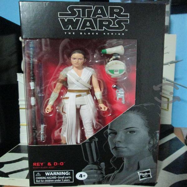Rey & D-0 - Star Wars Black Series