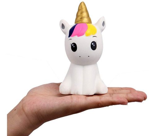 Squishy Kawaii De Unicornio Juguete Antiestrés Estrés