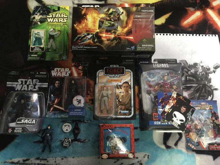 Star wars y marvel