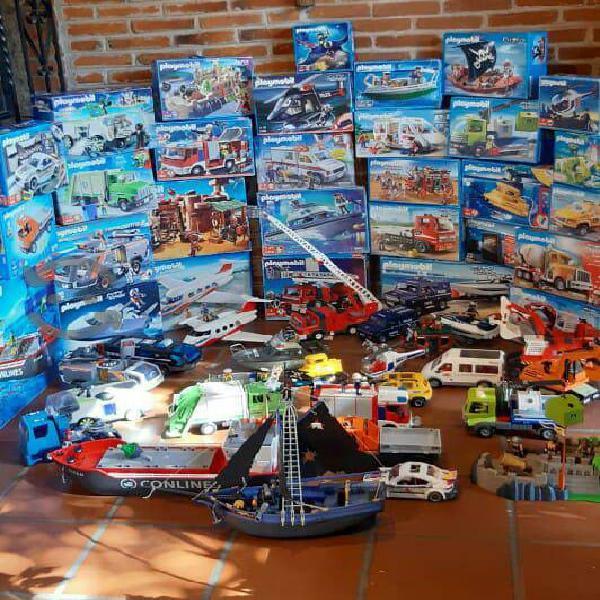 Vendo Lote de Juguetes Playmobil