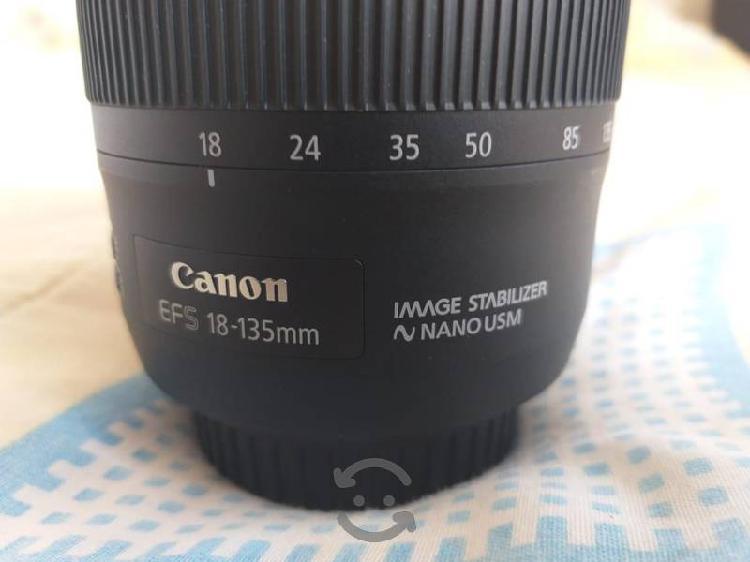 lente canon 18-135mm nano usm