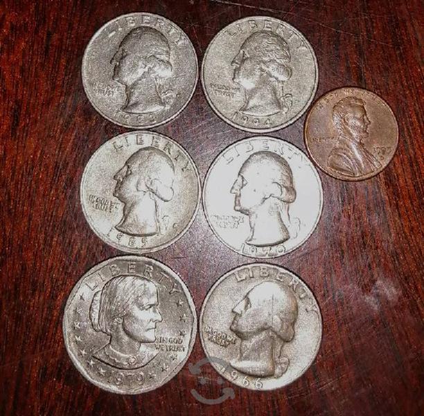 monedas de colección EUA