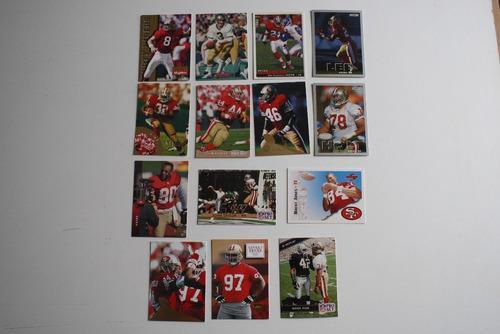 14 Tarjetas Coleccionables San Francisco 49ers, Niners Card