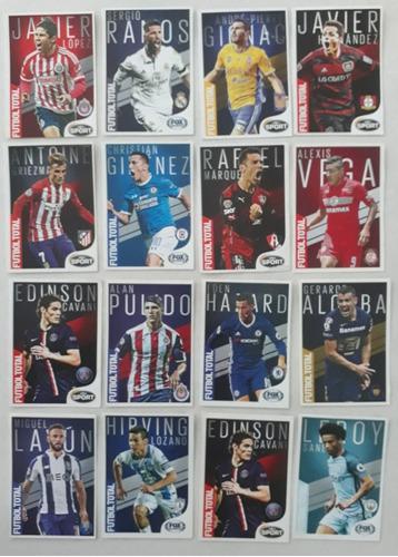 37 Tarjetas De Coleccion Futbol Total.