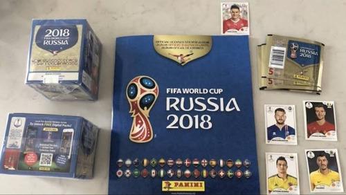 5 Cajas, Set De Coca, Album Platino, Mini Mundialistas Rusia