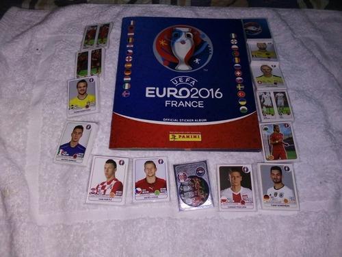 Album Eurocopa Francia 2016 Completo Estampas A Pegar