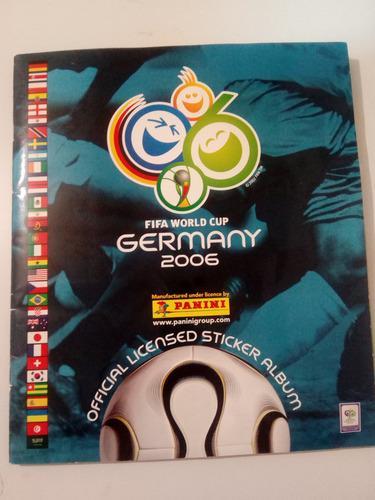 Album Panini Alemania 2006 (lleno)