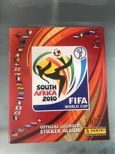 Album Panini Mundial Sudafrica 2010 + Caja Con 100 Sobres